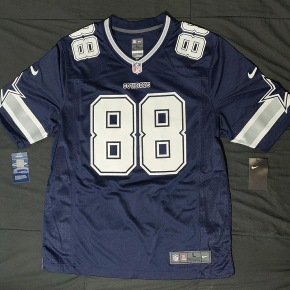 best website 1c812 316b2 Men's Nike NFL Dallas Cowboys Jersey Dez Bryant L NWT